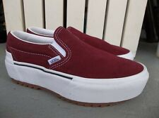 NWT WOMEN'S VANS CLASSIC SLIP ON STACKED SNEAKERS/SHOES.SIZE 7.BRAND NEW 2021.