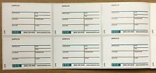 """Laboratory Sample Container Labels (3"""" x 2"""" Lot of 1000)"""