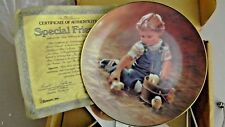 Hamilton Collection-Special Friends - The Magic of Childhood- Coll. Plate - 1984