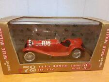 Vintage  1932 Alfa Romeo 2300 - 1/43 Brumm Diecast Model  #78
