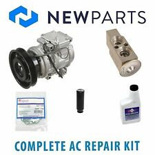 FOR Toyota Camry 1992-1993 3.0L Complete A/C Repair Kit w/ Compressor & Clutch