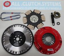ACS STAGE 4 CLUTCH KIT+ RACING FW+CAR DECAL 92-93 ACURA INTEGRA 1.8L