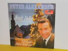 """SINGLE 7"""" - PETER ALEXANDER - JINGLE BELLS - HEIDSCHI BUM BEIDSCHI"""