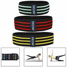 Fabric Resistance Bands Exercise Fitness Women Men