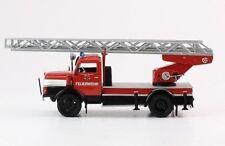 Fire truck Drehleiter feuerwehr IFA S 4000-1 dl2 echelle 25 m pompier IXO 1:43