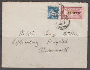 Algeria 1926. Cover to Denmark.