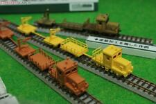 More details for greenmax railway maintenance vehicles n gauge kit unpowered white/red 2530 japan