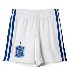 Maillots de football des sélections nationales bleus en espagne longueur manches manches courtes
