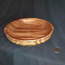Zebrano bowl