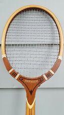 Vintage Imperial Tad Davis Wood Tennis Racquet