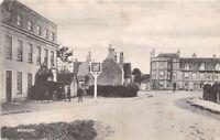 POSTCARD    OXON  BENSON  Village  White  Hart   Hotel    Circa  1905