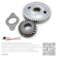 JP ALLOY TIMING GEAR 6 CYL 149-161-179-186-X2 RED MOTOR [HOLDEN EH-HD-HR]