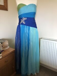 Grace Karin FAB!!! Full Length Dress, Blue. Sz 20. Ball, formal, wedding. BNWT.