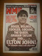 NME 1995 FEB 25 ELTON JOHN RADIOHEAD SEX PISTOLS SENSER