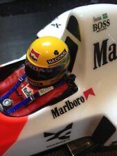 1:12 Decal Sticker Ayrton Senna helmet McLaren Mp4/6 Mp4/4 12028  model kit new