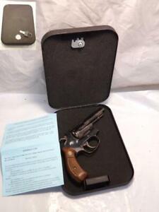 """NV100 GUNVAULT Steel 8"""" x 6"""" Locking Gun Storage Box Small Revolver Auto 3"""""""