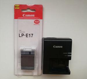 LP-E17 Battery + Charger for Canon EOS T6s 760D T6i T7i 750D 77D 800D M6 M5 SL2