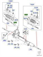 LAND ROVER GENUINE PART-BOOT STEERING GEAR- Range Rover Sport (L320)- QFW500020