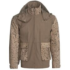 PIANA STORM SYSTEM LEATHER HUNTING FISHING JACKET NEW MENS LARGE  $249