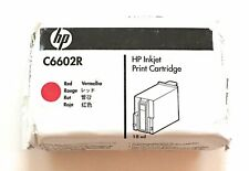 HP Red Thermal Ink Cartridge C6602R GENUINE NEW!