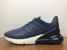 "Men's Nike Air Max 270 Premium ""Leather"" Size-9.5 Diffused Blue (AO8283 400)"
