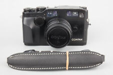 Contax G2 35mm Rangefinder Film Camera + Carl Zeiss Planar 45mm f/2 Lens - Black