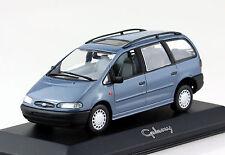 Ford Galaxy blau 1995 1:43 Minichamps Modellauto