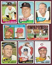 1965 Topps $1.00 / PICK Complete Your Set Commons Semis Highs Stars Teams EX