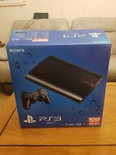 Sony PS3 500GB Super Slim Console (PS3) - BRAND NEW SEALED COLLECTIBLE