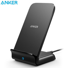 Anker Wireless Charger with USB-C 15W Metal PowerWave Fast Charging Qi-Certified