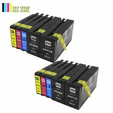 10PACK  ink for HP 950XL 951 XL OfficeJet Pro 8100 8600 8610 8620 8630