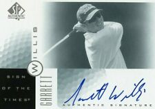 RARE 2001 GARRETT WILLIS SP AUTHENTIC SIGN OF THE TIMES AUTOGRAPH CARD !