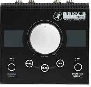 Mackie Big Knob Passive 2x2 Studio Monitor Controller