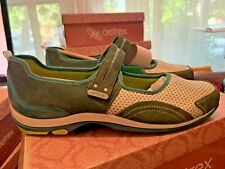 Aetrex Lizzy Green Leather Mary Jane Comfort Loafer Women's Shoe Size 10.5M NEW