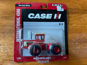 IH 4366 4WD Tractor 1/64th ERTL 2008 INTERNATIONAL HARVESTER 4WD Toy Tractor