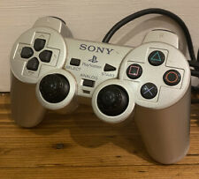 Sony PlayStation 2 officielles PS2 Silver Dual Shock Controller