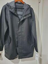 New UGG Rain Jacket Hoody waterproof black new 1018777 M Medium