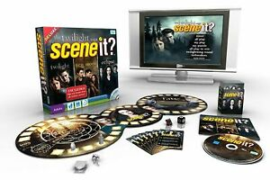 The Twilight Saga Deluxe Scene It? TV Show Trivia DVD Board Game - New & Sealed