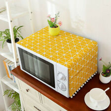 Microwave Oven Dust Covers Proof Cover with Cotton Linen Kitchen Storage Bags