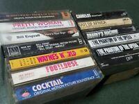 Mixed Lot Of 13 Motion Picture Soundtrack Cassette Tapes, Cast Recordings