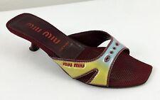 Right Shoe Only Designer MIU MIU Single Sandal Womens Size 39 - US size 8.5 m