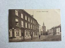 GILLY 1922  PLACE DU VILLAGE