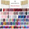 BORN PRETTY Multi-colors Nail Art Gel Polish Soak Off  Top Coat UV / LED