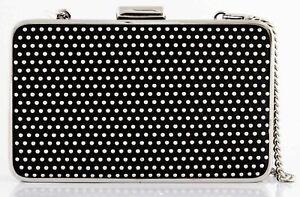 Michael Kors Elsie Microstud Micro Studded Box Clutch Evening Bag MSRP: $298