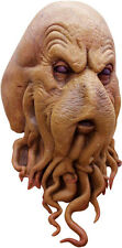 Mens Octopus Squid Davy Jones Film TV Scary Latex Head & Neck Fancy Dress Mask
