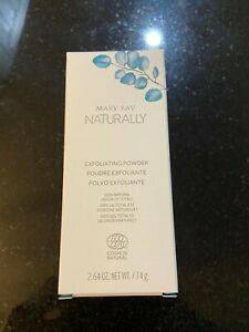 MARY KAY NATURALLY EXFOLIATING POWDER 2.64 OZ BOXED