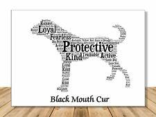 Black Mouth Cur Dog, Personalize Dog Lover Gift For Custom Pet Portrait