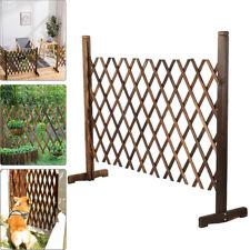 More details for expanding wooden fence trellis freestanding garden screen divider portable