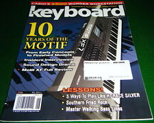 Yamaha Motif XF & Casio WK-7500 Review 2011 Keyboard Magazine Play HORACE SILVER