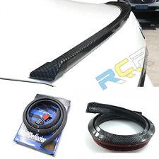 Universal 1.5M Car-Styling 3D Carbon Fiber Spoilers Tail Lip Skirt Bumper Strip